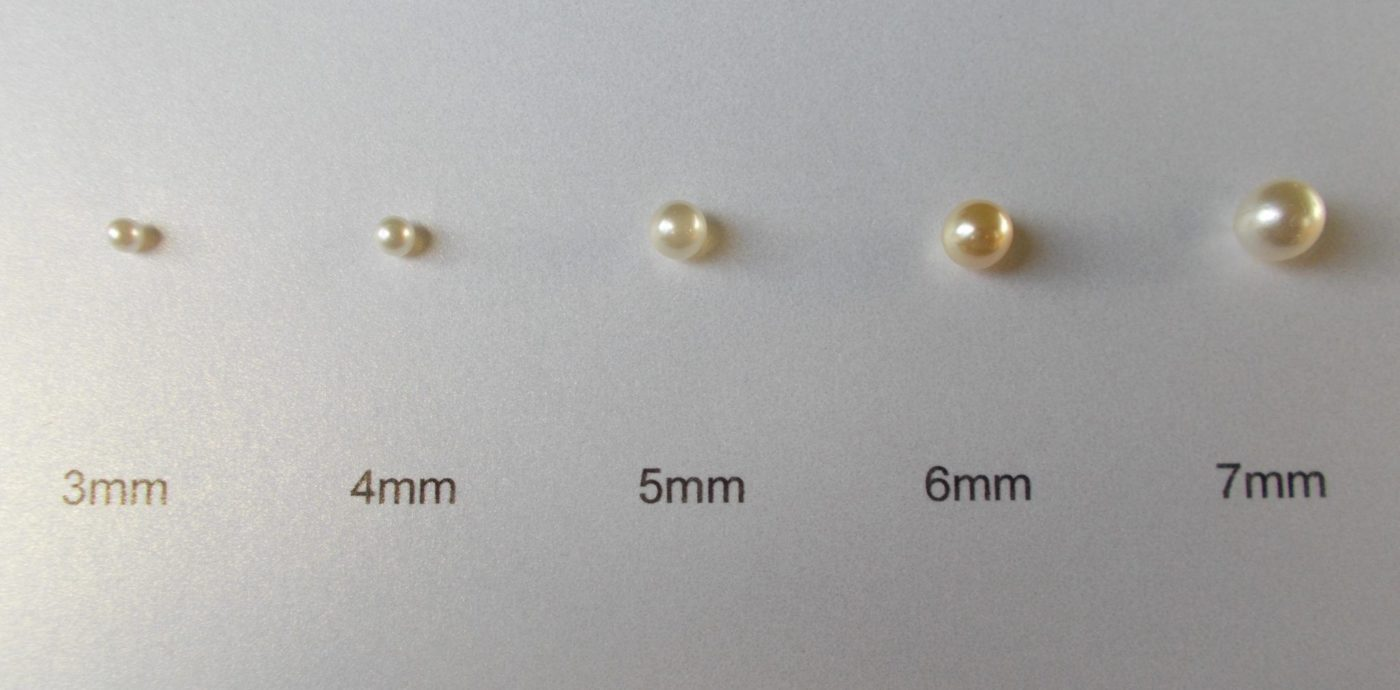 5mm Pearl Stud Earrings Ja138