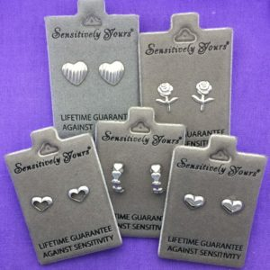 Gift Box of 5 Children's Silver Earrings – GB006