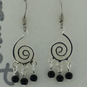 Open Spiral Chandelier Earrings – JSD048