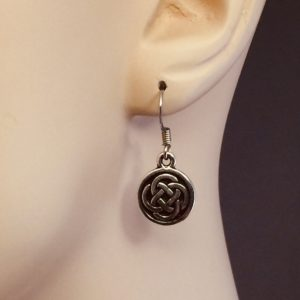 Celtic Knot Drop Earrings – JCL121